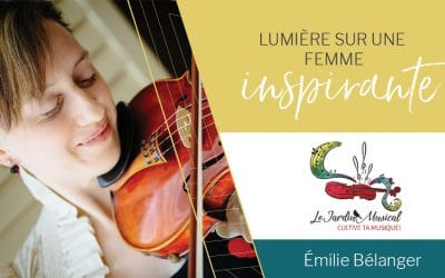 Lumière sur une femme inspirante: Émilie Bélanger